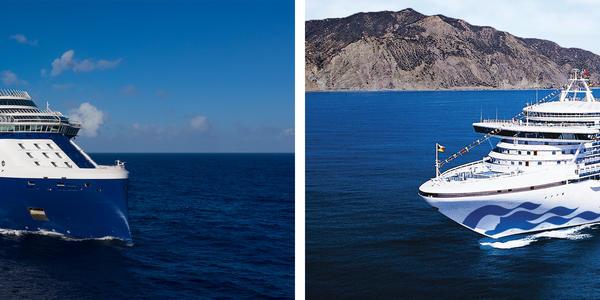 Celebrity Cruises vs. Princess Cruises (Photo: Celebrity & Princess Cruises)