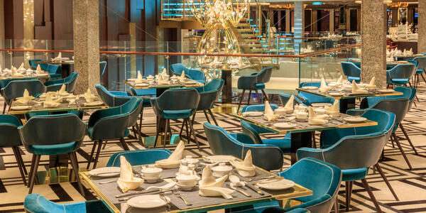 The Palace Restaurant (Photo: Dream Cruise Line)