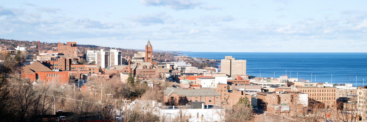 Downtown City Skyline, Duluth, Minnesota, USA, (Photo: Christopher Boswell/Shutterstock)