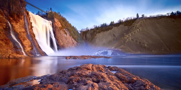 Montmorency Falls, Quebec, Canada (Photo: Magnus L/Shutterstock)