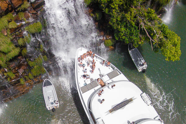 Kings Cascade, Prince Regent River, Western Australia (Photo: True North Adventure Cruises)