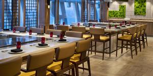 Spectrum of the Seas Teppanyaki restaurant