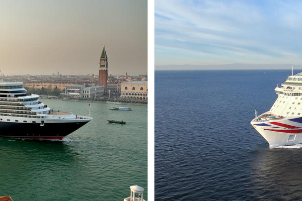 Cunard Line vs. P&O Cruises (Photo: Cunard & P&O)