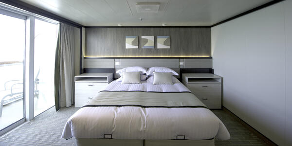 Britannia Accessible Cabin (Photo: P&O Cruises)