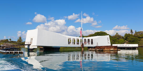 USS Arizona Memorial (Photo: pinggr/Shutterstock)