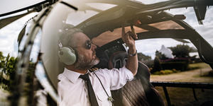 Helicopter Ride Pilot (Photo: Jacob Lund/Shutterstock)