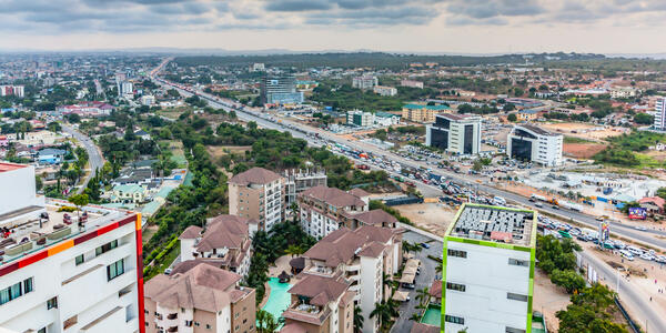 High View Point Cityscape of Accra, Ghana (Photo: Frank Herben/Shutterstock)