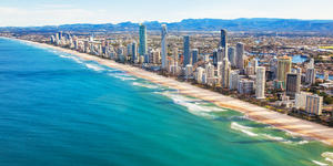 Aerial View of Surfers Paradise on the Gold Coast, Queensland, Australia (Photo: Martin Valigursky/Shutterstock)