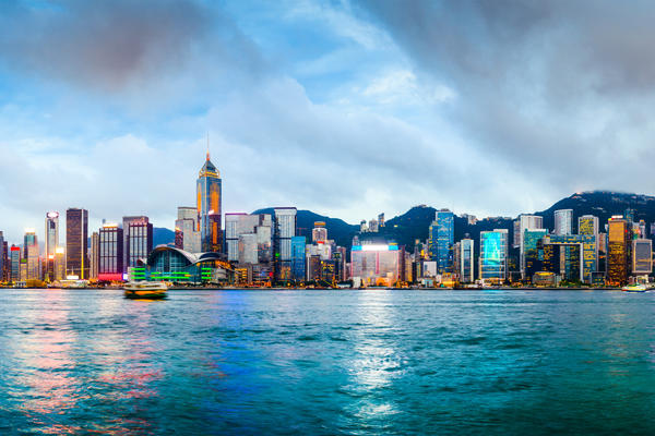 Hong Kong, China Skyline Panorama from Across Victoria Harbor (Photo: ESB Professional/Shutterstock)