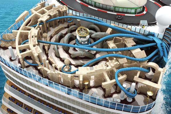 Image: Artist rendering of the Atlantis Laser Tag Arena on  Norwegian Encore (Image: Norwegian Cruise Line)