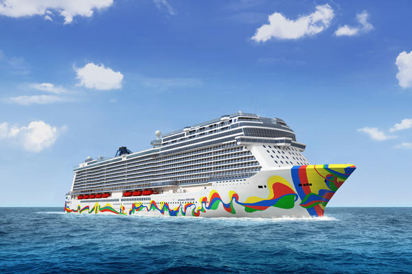 Image: Artist rendering of Norwegian Encore (Image: Norwegian Cruise Line)