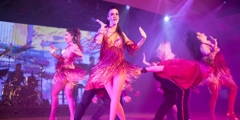 Entertainment onboard Crystal Serenity (Photo: Crystal Cruises)