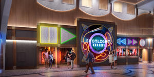 Spotlight Karaoke  on Allure of the Seas after the Royal Amplification refurbishment scheduled for Spring 2020 (Image: Royal Caribbean International)
