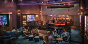Music Hall on Allure of the Seas after the Royal Amplification refurbishment scheduled for Spring 2020 (Image: Royal Caribbean International)