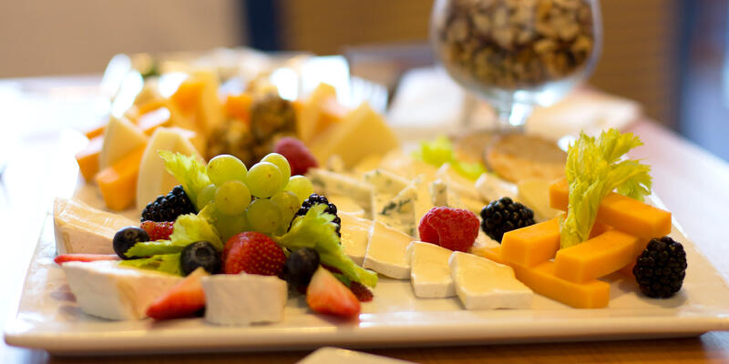 Cheese Platter Onboard Carnival (Photo: Carnival Cruise Line)