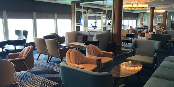 Britannia Lounge onboard Spirit of Discovery (Photo: Kerry Spencer/ Cruise Critic)