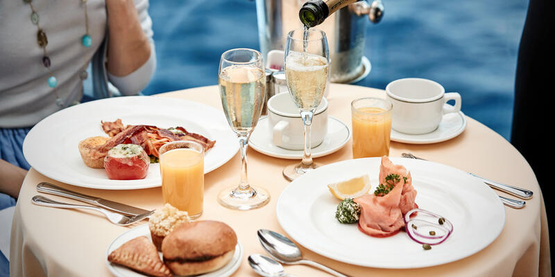 Balcony Dining on Princess Cruises (Photo: Princess Cruises)