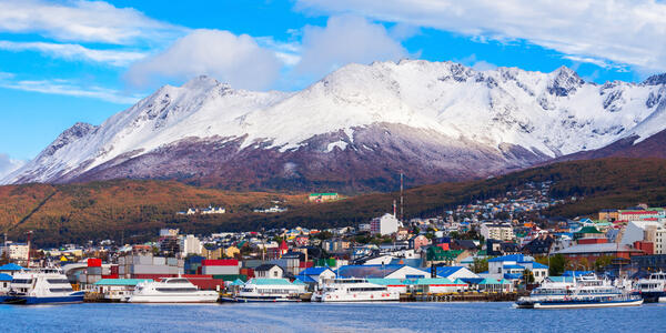 Ushuaia, Argentina (Photo: saiko3p/Shutterstock)