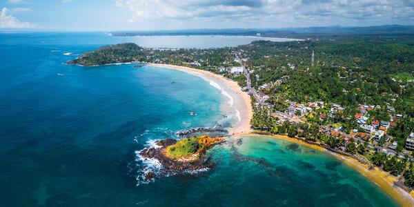 Mirissa, Sri Lanka (Photo: Dudarev Mikhail/Shutterstock)