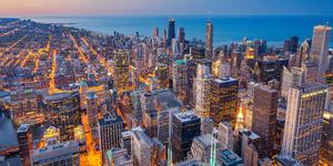 Chicago's Cityscape (Photo: Rudy Balasko/Shutterstock)