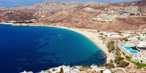 Elia Beach, Mykonos, Greece (Photo: saiko3p/Shutterstock)