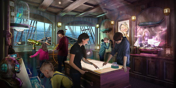 Phantom Bridge, The Escape Room on Princess (Photo: Princess Cruises)