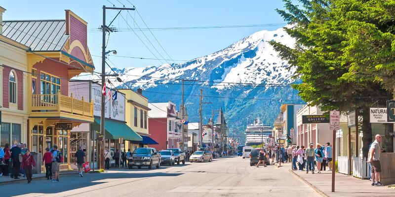 Skagway, Alaska (Photo: Ruth Peterkin/Shutterstock)