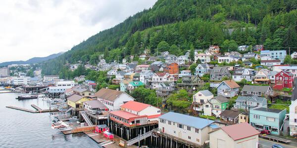 Ketchikan, Alaska (Photo: Brian Lasenby/Shutterstock)