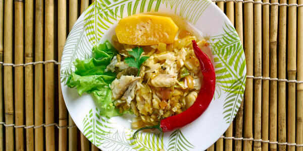 Ackee and Saltfish (Photo: Fanfo/Shutterstock)