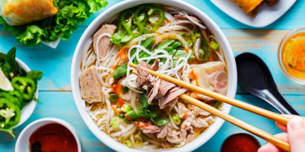 Vietnamese Pho (Photo: Joshua Resnick/Shutterstock)