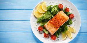 Salmon Dinner (Photo: Jacek Chabraszewski/Shutterstock)