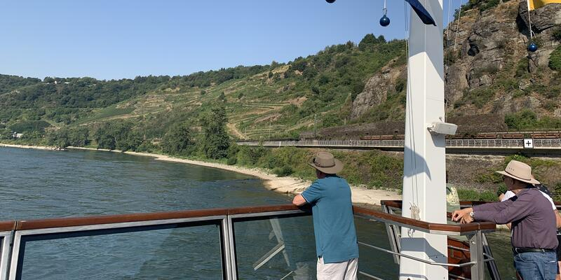 View of the Danube River from Travelmarvel Diamond (Photo: Louise Goldsbury)