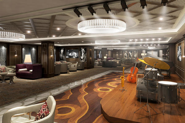 Artist rendering of Take 5, which will be debuting on Sky Princess in October 2019 (Image: Princess Cruises)