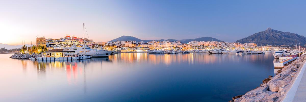 Marbella, Spain (Photo: arturografo/Shutterstock)