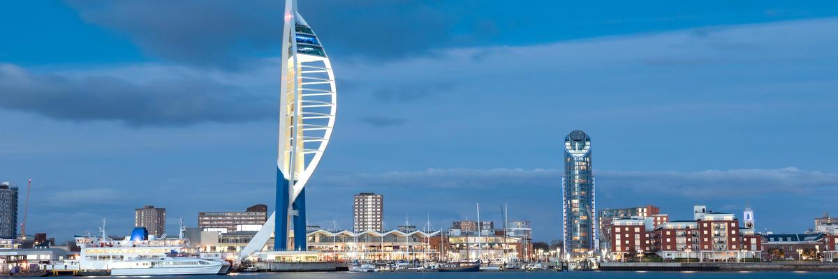 Portsmouth, UK (Photo: stocker1970/Shutterstock)