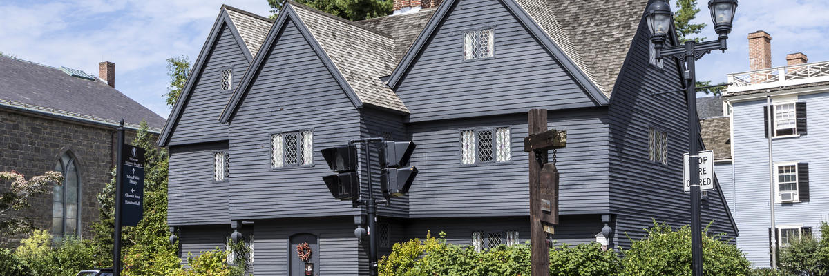 The Witch House in Salem, Massachusetts (Photo: travelview/Shutterstock)