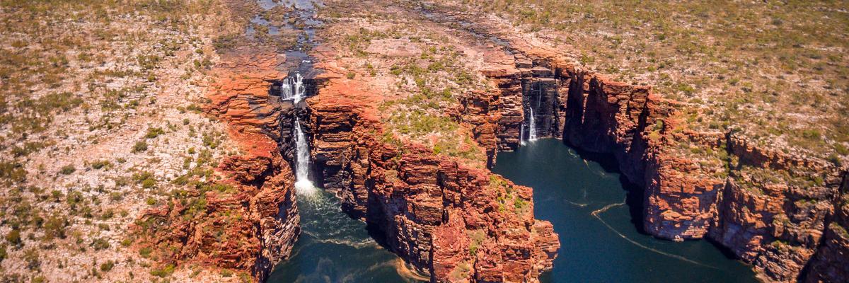 King George Falls in Wyndham, Australia (Photo: paulmichaelNZ/Shutterstock)