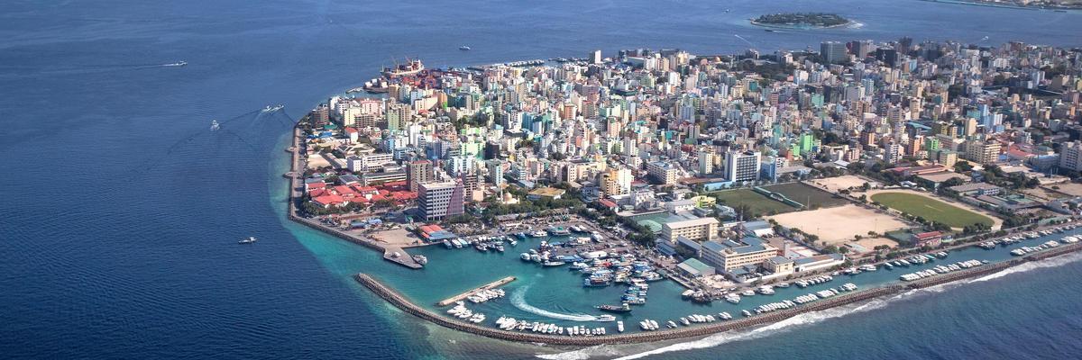 Main Capital of Maldives, Male (Photo: klempa/Shutterstock)