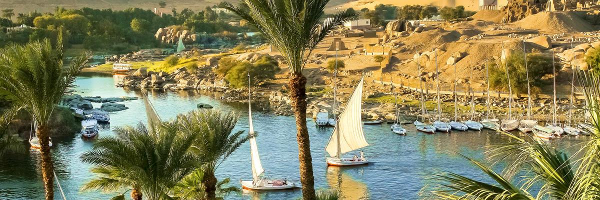 Aswan, Egypt (Photo: Marcel Bakker/Shutterstock)