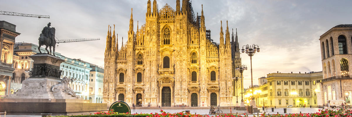Duomo Cathedral in Milan, Italy (Photo: oneinchpunch/Shutterstock)