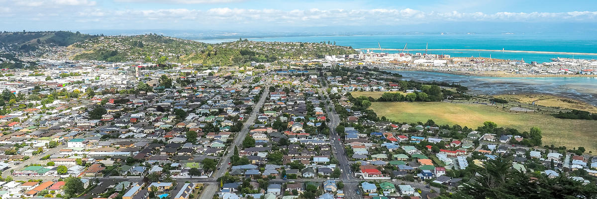 Aerial view from the Center of New Zealand, Nelson (Photo: Robert CHG/Shutterstock)