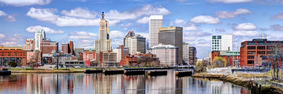 Skyline of Providence, Rhode Island on a sunny day (Photo: Sean Pavone/Shutterstock.com)