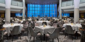 "The  Metropolitan Restaurant Main Dining Room on the ""revolutionized"" Celebrity Millennium (Photo: Celebrity Cruises)"