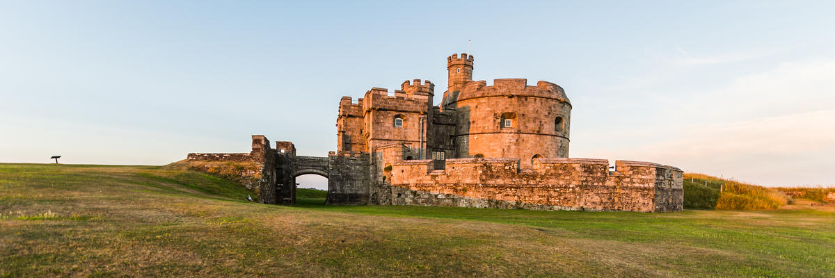 Pendennis Castle, Falmouth, Cornwall, England (Photo: Arts Illustrated Studios/Shutterstock)