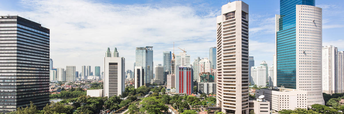 The Business District of Jakarta Along Jalan Sudirman, Which is the Capital in Indonesia (Photo: AsiaTravel/Shutterstock)