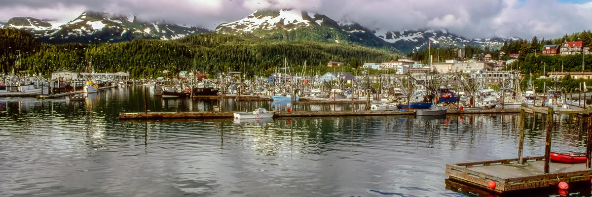 Fishing harbor in Cordova, Alaska (Photo: Bildagentur Zoonar GmbH/Shutterstock)