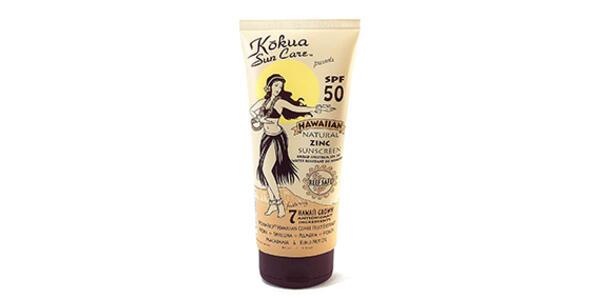 Kokua Sun Care Hawaiian Natural Zinc Sunscreen (Photo: Amazon)