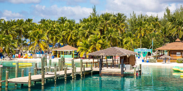 View of Blue Lagoon, a Private Island Resort Near Nassau, Bahamas (Photo: Victor Maschek/Shutterstock)