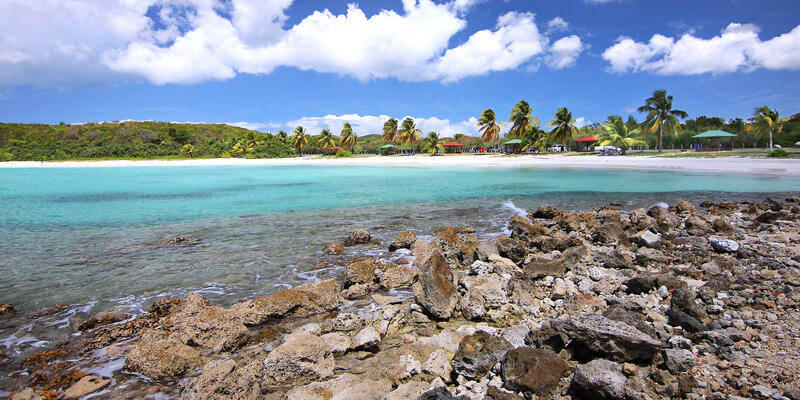 Caracas Beach, Vieques Island, Puerto Rico (Photo: E Rojas/Shutterstock)