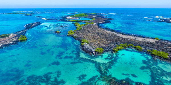 Aerial Shot of Isabel Island, Galapagos Islands, Ecuador (Photo: Ppito00/Shutterstock)